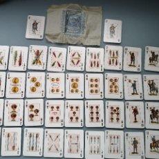 Barajas de cartas: JUEGO BARAJA DE 40+2 CARTAS NAIPES HIJA FOURNIER BURGOS POKER ESPAÑOL Nº 33 SIN TIMBRE NUEVA PERFECT. Lote 187583447