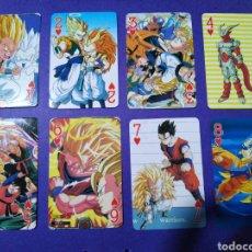 Barajas de cartas: DRAGÓN BALL Z, BARAJA DE CARTAS (SOLO FALTA EL 10 DE TREBOL). Lote 187642558