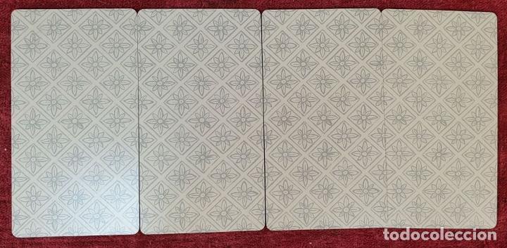 Barajas de cartas: TAROT ESPAÑOL. 78 CARTAS. COMPLETO. REPRODUCCIÓN DE UNO DE 1736. HERACLIO FOURNIER. 1975. - Foto 2 - 187665121
