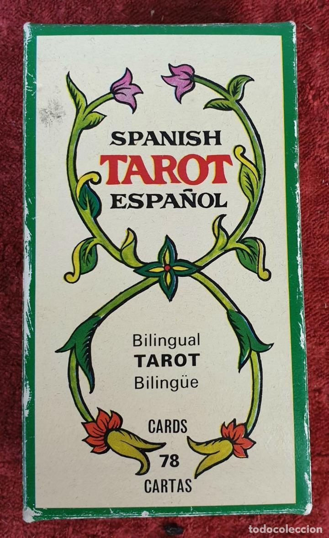 Barajas de cartas: TAROT ESPAÑOL. 78 CARTAS. COMPLETO. REPRODUCCIÓN DE UNO DE 1736. HERACLIO FOURNIER. 1975. - Foto 4 - 187665121