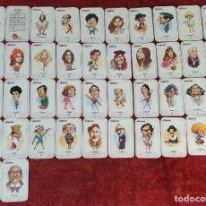 Barajas de cartas: JUEGO DE 41 CARTAS. JUEGO DE PAREJAS. EL JUEVES. DIBUJOS DE FERRERES. CIRCA 1980.. Lote 187693696