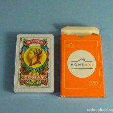 Barajas de cartas: BARAJA ESPAÑOLA. HOME XXI. HOMEXXI. COMAS. Lote 188424601