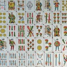 Barajas de cartas: JUEGO DE 49 CARTAS. BARAJA CLÁSICA ESPAÑOLA. JUAN ROURA. CIRCA 1950. . Lote 188620893