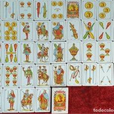 Barajas de cartas: JUEGO DE 40 CARTAS. BARAJA ESPAÑOLA. HERACLIO FOURNIER. 1997.. Lote 188621151