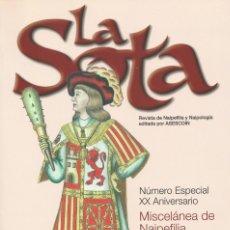 Barajas de cartas: REVISTA LA SOTA ASESCOIN Nº ESPECIAL XX ANIVERSARIO 1988-2008 NUEVA. Lote 188647053