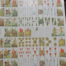 Barajas de cartas: 2 BARAJAS EN PLANCHA SIN CORTAR CELEBRES AMANTES 2007 ASESCOIN. Lote 188656090
