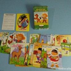 Barajas de cartas: BARAJA PAREJAS DEL MUNDO. 33 CARTAS. FOURNIER 1972. Lote 188656261