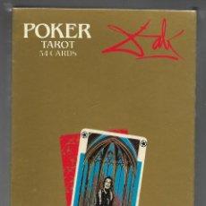 Jeux de cartes: BARAJA POKER TAROT DE DALI, EN ESTUCHE Y PRECINTADO.. Lote 188713443