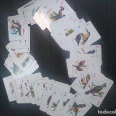 Barajas de cartas: BARAJA DE POKER DE AVES EXÓTICAS INGLESA 55 CARTAS NUEVA. Lote 188715725