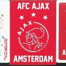 Mazzi di carte: BARAJA OFICIAL CLUB DE FUTBOL AJAX AFC DE AMSTERDAM. Lote 188721148