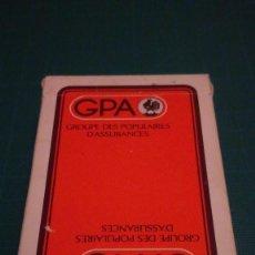 Barajas de cartas: TURNHOUT BELGICA CARTA MUNDI BARAJA BRIDGE - PUBLICIDAD GPA. Lote 188726155