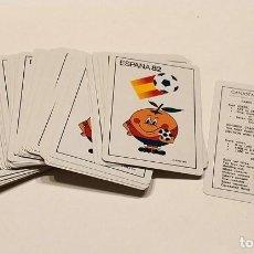 Barajas de cartas: ANTIGUA BARAJA DE POKER MUNDIAL DE FUTBOL ESPAÑA 82 NARANJITO . Lote 188825997