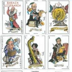 Barajas de cartas: BARAJA ESPAÑOLA LITERARIA DE ASESCOIN 2002.-. Lote 188830767