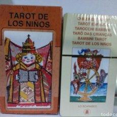 Barajas de cartas: ***OPORTUNIDAD***TAROT DE LOS NIÑOS.***MUY DIFÍCIL DE ENCONTRAR.***LELE LUZZATI. Lote 189118506