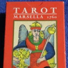 Barajas de cartas: TAROT MARSELLA 1760 - LO SCARABEO ¡IMPECABLE!. Lote 189175931