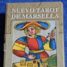 Barajas de cartas: TAROT DE MARSELLA - LO SCARABEO ¡IMPECABLE!. Lote 189178695