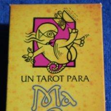 Jeux de cartes: UN TAROT PARA MACONDO - FOURNIER ¡IMPECABLE!. Lote 189178847