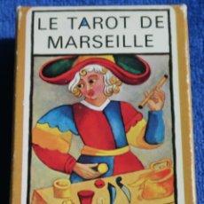 Baralhos de cartas: LE TAROT DE MARSEILLE - FOURNIER ¡IMPECABLE!. Lote 189179518