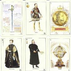 Barajas de cartas: BARAJA ESPAÑOLA HISTORICA MONASTERIO SAN LORENZO DEL ESCORIAL-NOVEDAD AÑO 2019.-. Lote 189314997