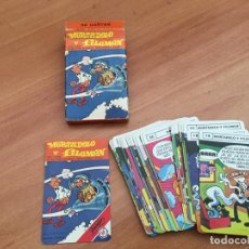 Mazzi di carte: MORTADELO Y FILEMON. BARAJA CARTAS FOURNIER ORIGINAL COMPLETA 33 CARTAS (CRIP4). Lote 189328872