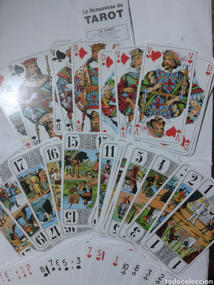 TAROT - LE RENOUVEAU DU TAROT (Juguetes y Juegos - Cartas y Naipes - Barajas Tarot)