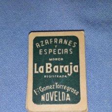 Barajas de cartas: MINI NAIPES MARCA LA BARAJA DE NOVELDA COMPLETA ORIGINAL AÑOS 50. Lote 189358597