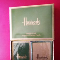 Barajas de cartas: HARRODS PLAYING CARDS . Lote 189360132