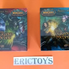 Barajas de cartas: LOTE 2 MAZO BARAJA CARD CARDS - WORLD WARCRAFT, ARENA GRAND MELEE EN INGLÉS - ERICTOYS. Lote 244874305