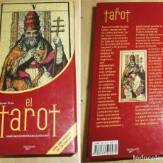 Baralhos de cartas: EL TAROT SIGNIFICADO INTERPRETACION ADIVINACION LAURA TUAN LIBRO Y BARAJA 78 CARTAS EN CAJA. Lote 189519166