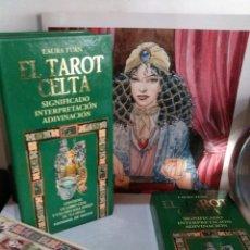 Barajas de cartas: TAROT CELTA. LAURA TUAN. EDITORIAL DE VECCHI.. Lote 189739606