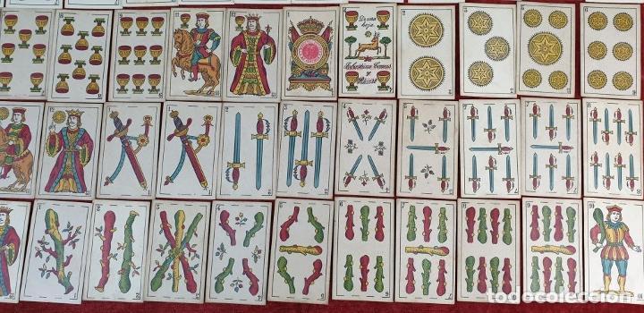 Barajas de cartas: JUEGO DE 100 CARTAS. UNA HOJA. SEBASTIAN COMAS Y RICART. CIRCA 1930. - Foto 6 - 189740990