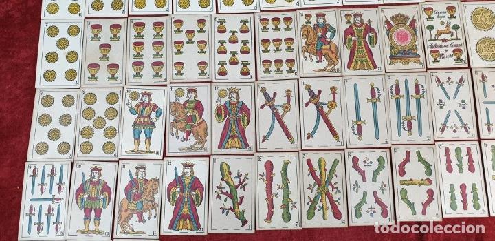 Barajas de cartas: JUEGO DE 100 CARTAS. UNA HOJA. SEBASTIAN COMAS Y RICART. CIRCA 1930. - Foto 7 - 189740990