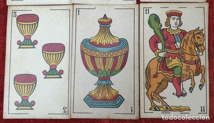 Barajas de cartas: JUEGO DE 100 CARTAS. UNA HOJA. SEBASTIAN COMAS Y RICART. CIRCA 1930. - Foto 8 - 189740990