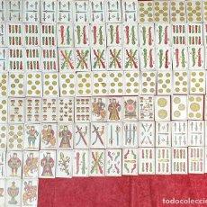 Barajas de cartas: JUEGO DE 100 CARTAS. UNA HOJA. SEBASTIAN COMAS Y RICART. CIRCA 1930. . Lote 189740990