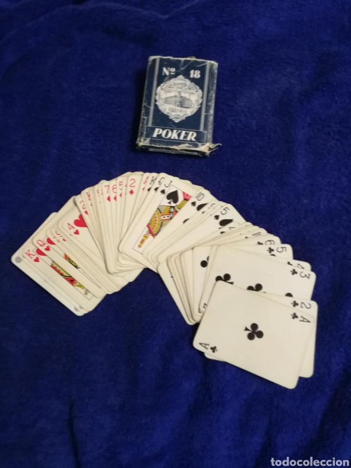 ANTIGUA BARAJA DE POKER HERACLIO FOURNIER (Juguetes y Juegos - Cartas y Naipes - Barajas de Póker)