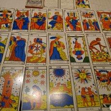 Barajas de cartas: CARTAS TAROT EDICION ESPECIAL INAUGURACION GALES TUSET 1968. Lote 189901413