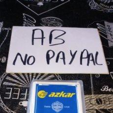 Barajas de cartas: BARAJA NAIPES CARTAS FOURNIER TRANSPORTES AZKAR COMPLETA. Lote 190007242