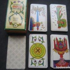 Barajas de cartas: TAROT BILINGUE ESPAÑOL INGLES. FOURNIER 1978. Lote 190040742