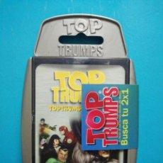 Barajas de cartas: BARAJA DE CARTAS TOP TRUMPS SUPER HEROES . Lote 190047730