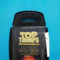 Barajas de cartas: BARAJA DE CARTAS TOP TRUMPS STAR WARS . Lote 190047735