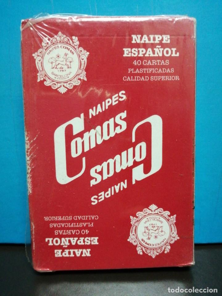 Barajas de cartas: BARAJA CARTAS COMAS 40 CARTAS PRECINTADA - Foto 2 - 190047765