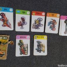Barajas de cartas: ANTIGUO JUEGO DE CARTAS. Lote 190164137