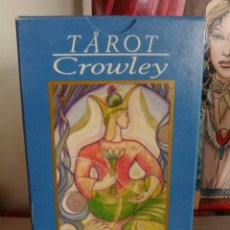 Barajas de cartas: TAROT CROWLEY. ORBIS FABBRI. LO SCARABEO. AÑO 2000.. Lote 190225128