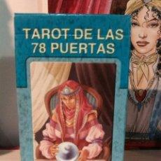 Barajas de cartas: TAROT DE LAS 78 PUERTAS. Lote 190272840