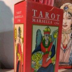 Barajas de cartas: TAROT MARSELLA 1760. ORBIS FABBRI. LO SCARABEO. AÑO 2000. Lote 190278972