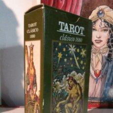 Barajas de cartas: TAROT CLÁSICO 1880.. Lote 190284371
