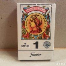 Barajas de cartas: BARAJA CARTAS HERACLIO FOURNIER 40 CARTAS PRECINTADAS VER FOTOS. Lote 190392522