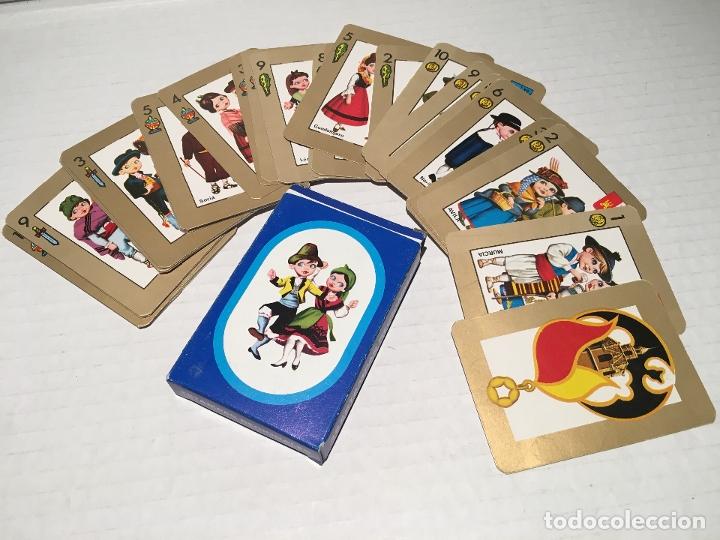 ANTIGUA BARAJA DE CARTAS 48 ESTAMPAS REGIONALES (Juguetes y Juegos - Cartas y Naipes - Barajas Infantiles)