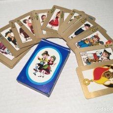 Jeux de cartes: ANTIGUA BARAJA DE CARTAS 48 ESTAMPAS REGIONALES. Lote 205764860