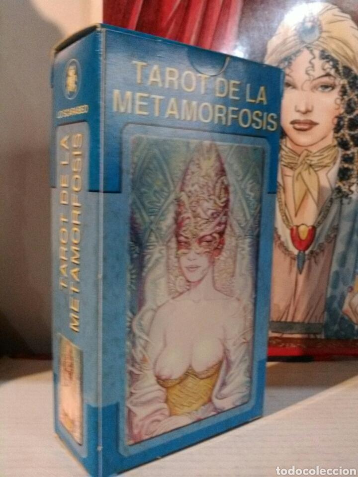 Barajas de cartas: TAROT METAMORFOSIS. LO SCARABEO. - Foto 2 - 190409105